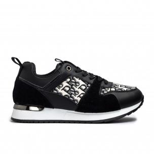 Pantofi sport de dama Romansiaga negre
