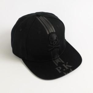 Șapcă bărbați FM neagră