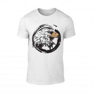 Tricou pentru barbati Eagle alb