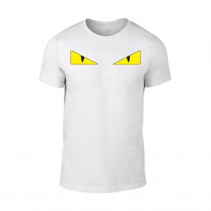 Tricou pentru barbati Fendi alb