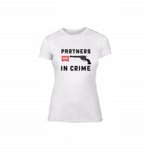 Tricou de dama Partners in Crime, mărimea M