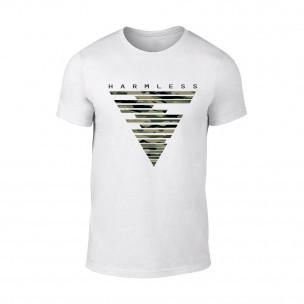 Tricou pentru barbati Harmless alb