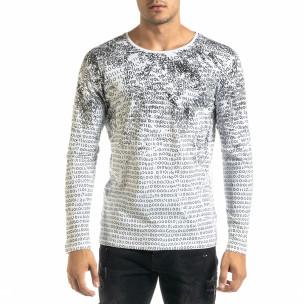 Bluză bărbați Lagos albă