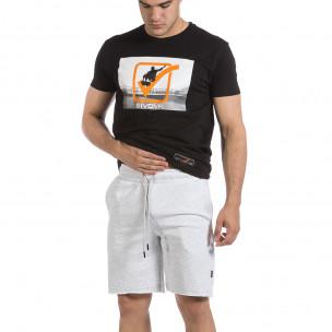 Pantaloni scurți bărbați 2512 gri