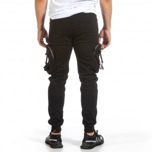 Pantaloni bărbați Yes Design negri 2