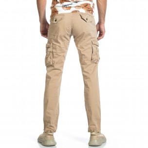 Pantaloni cargo bărbați Blackzi bej Blackzi 2