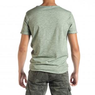 Tricou bărbați Duca Homme verde  2