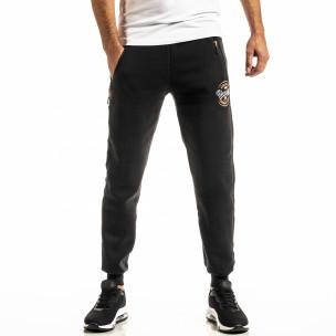 Pantaloni sport bărbați Nice negru