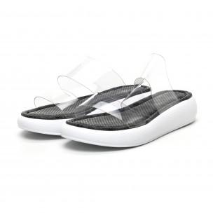 Papuci de dama Bodrum gri 2