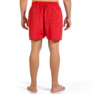 Costume de baie bărbați Yaliishi roșu  2