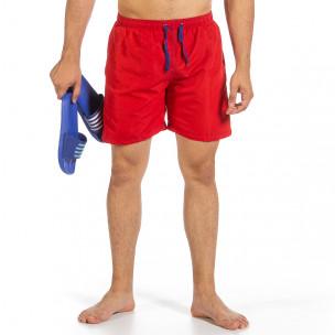 Costume de baie bărbați Yaliishi roșu