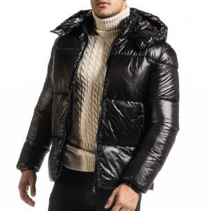 Geacă de iarnă bărbați Duca Homme neagră 2