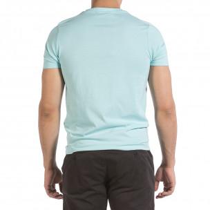 Tricou bărbați Hey Boy albastru 2