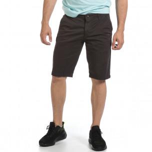Pantaloni scurți bărbați Blackzi gri Blackzi