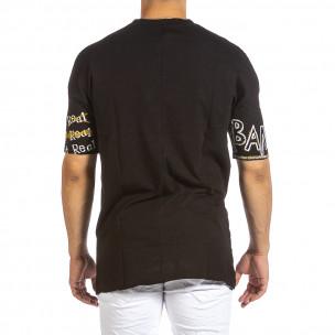 Tricou bărbați Maksim  negru  2