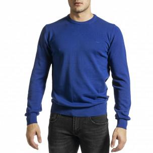 Pulover bărbați Code Casual albastru