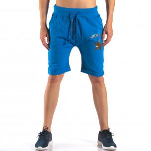 Pantaloni scurți bărbați Black Fox albaștri