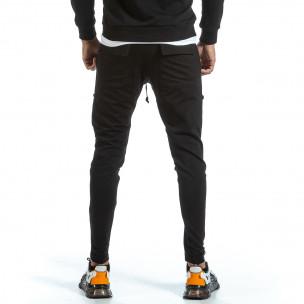Pantaloni sport bărbați 2Y Premium negru  2
