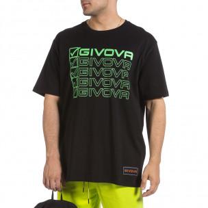 Tricou bărbați Givova negru 2