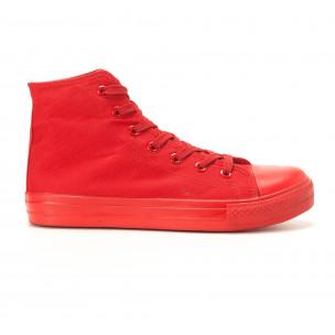 Teniși înalți roșii pentru bărbați
