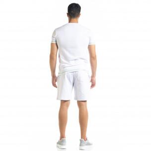 Set sportiv alb pentru bărbați Compass  2