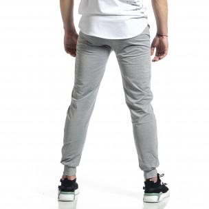 Pantaloni sport bărbați Feel gri  2