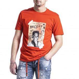 Tricou bărbați Breezy orange