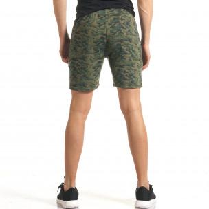 Pantaloni scurți bărbați Furia Rossa camuflaj  2