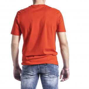 Tricou bărbați Breezy orange 2