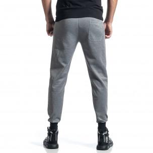 Pantaloni sport bărbați M&2 gri  2