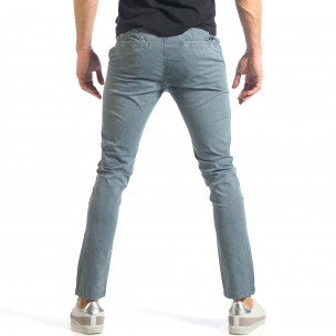 Pantaloni bărbați XZX-Star albaștri  2