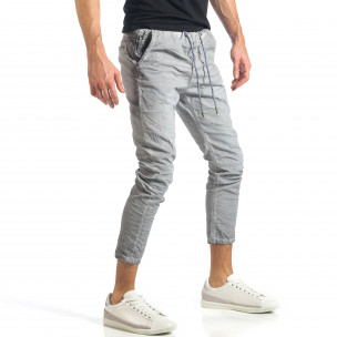 Pantaloni bărbați Y-Two gri  2