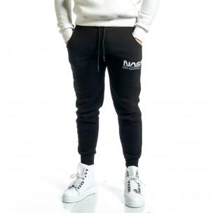Pantaloni sport bărbați YRO58 negru
