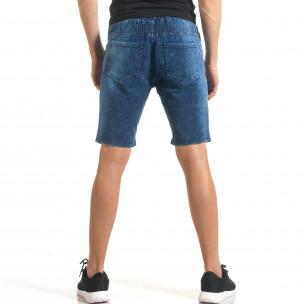 Pantaloni scurți bărbați Flex Style albaștri  2