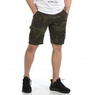 Pantaloni scurți bărbați J.Sette camuflaj