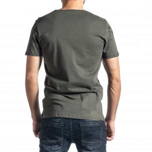 Tricou bărbați Lagos verde 2