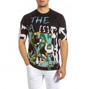 Tricou bărbați Maksim  negru