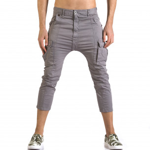Pantaloni bărbați XZX-Star gri
