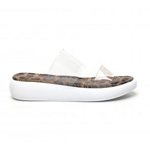 Papuci de dama Bodrum maro