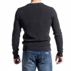 Pulover bărbați Code Casual gri Code Casual 2