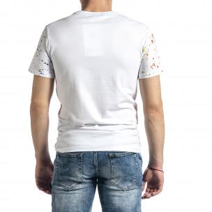 Tricou bărbați Breezy alb Breezy 2