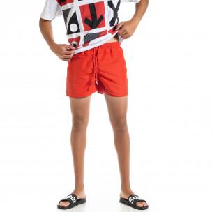 Costume de baie bărbați Basic roșu
