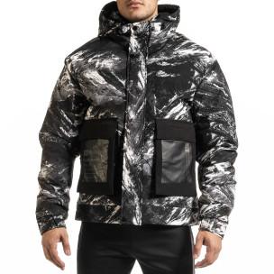 Geacă de iarnă bărbați X-Feel camuflaj