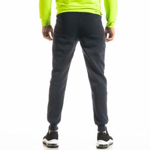 Pantaloni sport bărbați Nice albastru  2