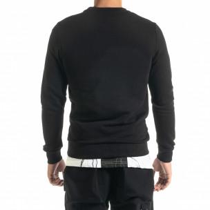 Bluză bărbați Clang neagră 2