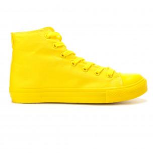 Teniși înalți galbeni pentru bărbați