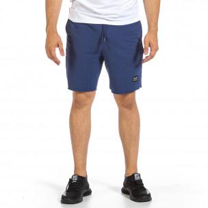 Pantaloni scurți bărbați Clang albaștri