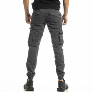 Pantaloni cargo bărbați Blackzi gri Blackzi 2