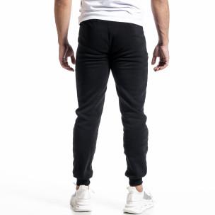 Pantaloni sport bărbați Nice negru  2