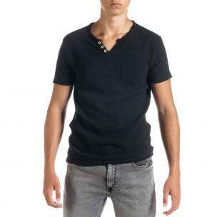 Tricou bărbați Duca Homme negru